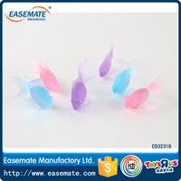wholesales mini kids plastic cheape floating goldfish toy