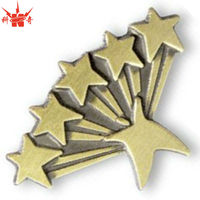 Five Star Service Pins Cheap Trading Cast Pins