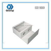 OEM metal case/waterproof electrical floor box/aluminum chassis
