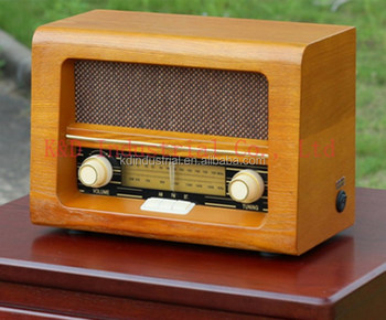 OEM/ODM durable wooden radio with AM/FM stereo tuner