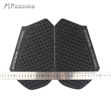 High Quality Rubber Motorcycle Accessory Motorbike Side Tank Traction Pad Protector For Honda CBR600RR 2013-2016