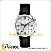 High end new fashion japan movement stainless steel quartz business watch for men