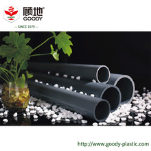 Small fluid resistance pvc water pipe size for drinking water supply