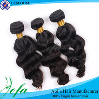 Hot Hot ! 100 natural unprocessed real human hair for sale china