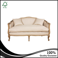 Wholesale French Style Wooden Frame Sofa