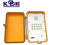 waterproof Emergency phone Intercom system, IP phone, voip Explosion proof phone Koontech KNSP-13 no contract cell phone