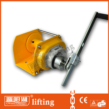2 ton heavy duty hand winch with brake