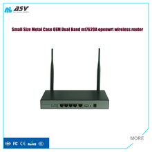High Performance Dual band openwrt industrial ethernet router with detachable antenna