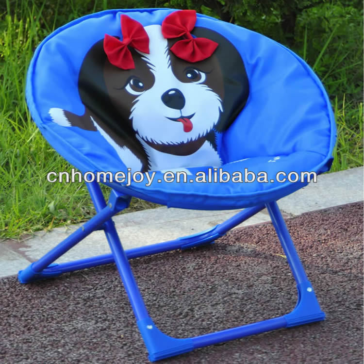 High quality chair for children, folding round chair , kids moon chair