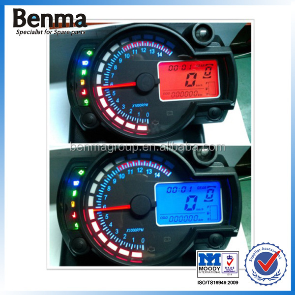 Digital motorcycle meter with Big LCD Screen RX2N
