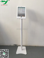 popular security lock android tablet with floor stand