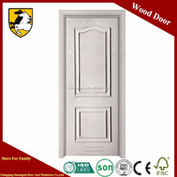 China Supplier exterior wooden door mdf flush solid wood door