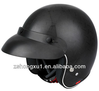 Motorcycle Half face Helmet Popular design Carbon Fiber