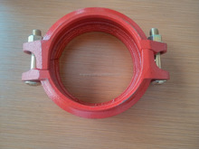 Ductile Iron Grooved Pipe reducing coupling/ clamp