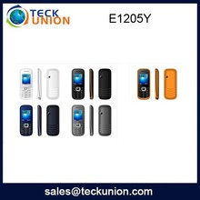 E1205Y 1.77' super small low price china mobile phone with keypad FM oem