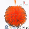 YOYO flashing puffer ball toy.hair ball