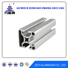 Aluminum extruded profiles industrial , aluminium profile systems