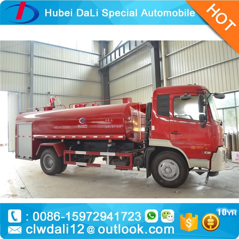 Dongfeng 4x2 airport fire truck 5000Liter foam 1000Liter for sale,high quality rescue fire truck for sale