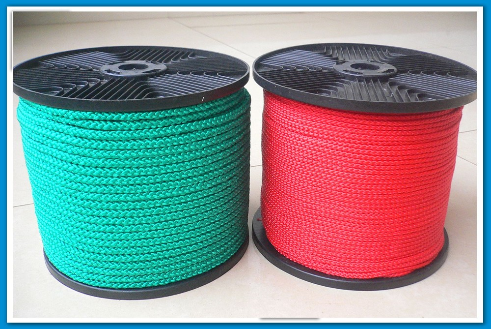 16 Strand Pp Mutifilament Braided Rope Used For Binding
