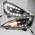 For HONDA Fit Jazz LED Angel Eyes Head Lamp 2009 to 2010 year JY