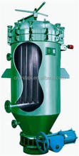 The closed vertical leaf filter oil leaf filter