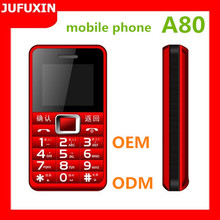 A80 1.77inch GSM 900/1800/Dual sim card dual standby/FM/GPRS /Bluetooth/ multi language/TF card basic function mobile phone