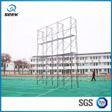 Light Weight Useful speaker hanging h shape types of steel scaffolding