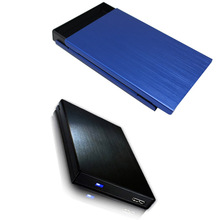 "Metal 2.5"" USB 3.0 HDD Case Hard Drive Disk USB3.0 to SATA External Storage HDD Enclosure aluminium Box"
