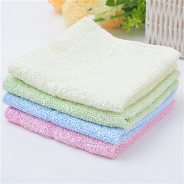 wholesale baby white bamboo muslin face cloth