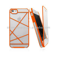 Flip Case for Iphone 5/5s, transparent case for iphone5/5s