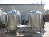 1000L Mash tun, brew kettle, brewhouse system