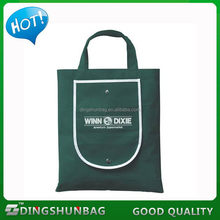 2015 new design unique 190t polyester lemon shape foldable bag