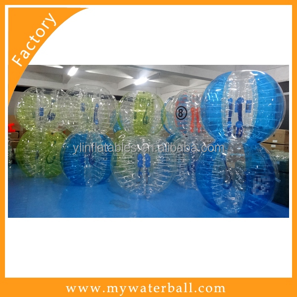 2016 PVC / TPU Soccer Bubble Bump For Sale