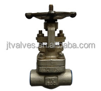 Forged Gate Valves Globe valves #800 #1500 OS&Y and welded bonnet API