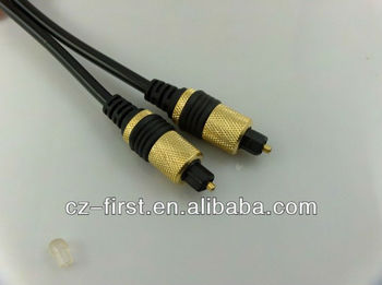 Gold plated factory Toslink High Definition Audio cable