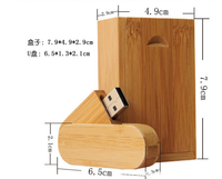 Bulk cheap 2gb 4gb 8gb 16gb wooden swivel usb flash drive memory stick