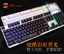 OEM usb backlit keyboard gaming led keyboard factory