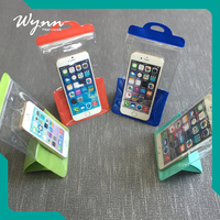 Wholesale promotional waterproof mobile cell phone bag