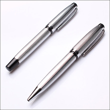 Best selling high-grade promotional silver gel pen