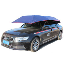 Automatic remote control car sunshade umbrella