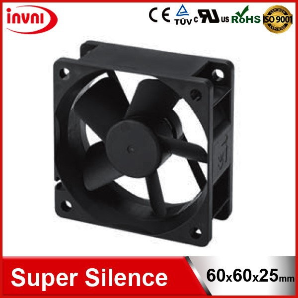 Super Silence SUNON 6025 60x60 60mm 60x25 60x60x25 mm 12V DC Ventilation Brushless Quiet Fan 60x60x25mm (HA60251V4-0000-999)