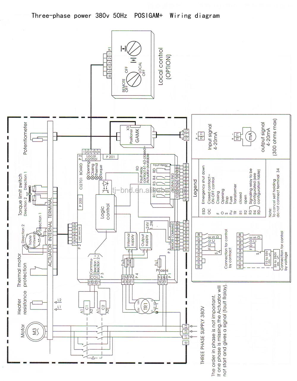 bernard valve actionneur st30    16   ve100r    6