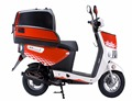 2018 Europe4 EEC register on-road street legal socoter/ 50cc food delivery scooter with big rear box (TKM50E-P2)