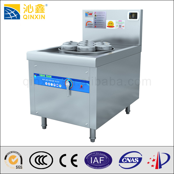 Commercial Electric Steamer ~ Best quality food warmer trolley stainless steel steamer