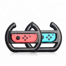 Left and Right Racing 2 in 1 Game Steering Wheel for Nintendo Switch Gamepad Controller