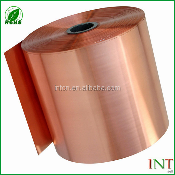factory hot sell t2 ETP copper tape strip