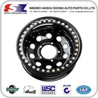 China car?wheel?Factory good quality Steel custom steel wheels for trucks/15 beadlock wheels