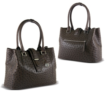 Drak Gray Color Ladies Large Bags