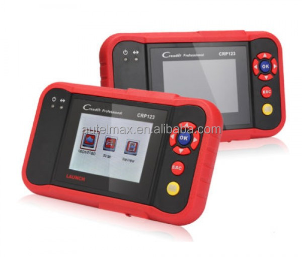 Newest auto diagnostic tool Super Auto Code Scanner Launc Creader 7+=CReader Professional CRP123 Launch CRP 123