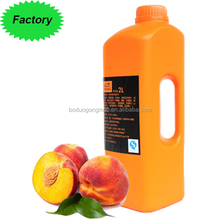 High quality Concentration of fruit syrup Concentrated Honey peach Juice